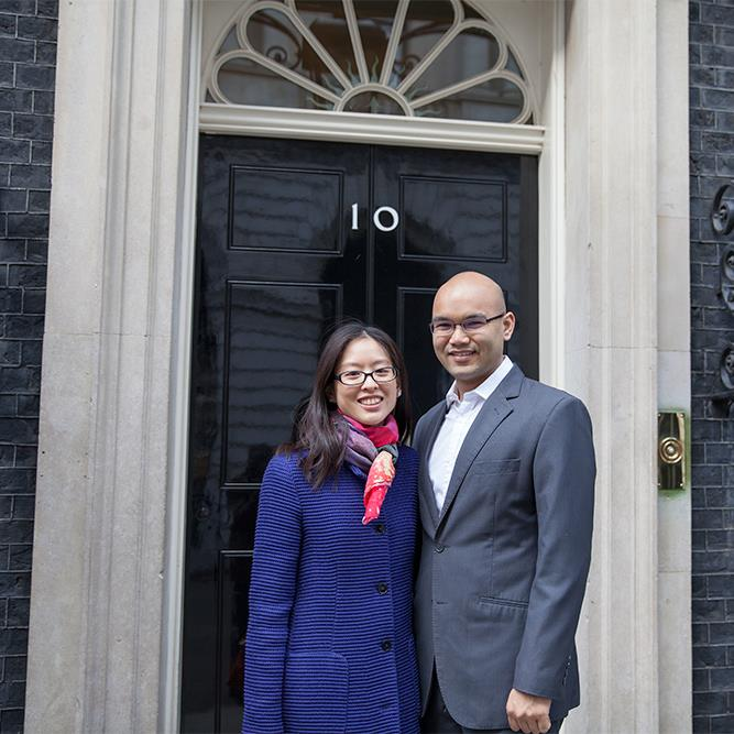 Scholar wins tour of No. 10 Downing Street