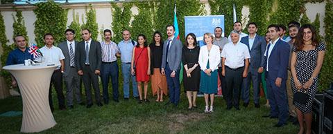 Chevening soars in Azerbaijan