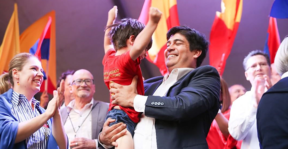 Chevening Alumnus Carlos Alvarado becomes 48th president of Costa Rica