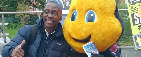 Chevener gets a buzz from volunteering: scholar interview