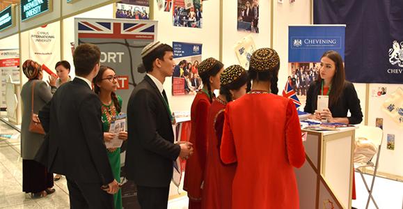 Marketing year-round in Turkmenistan