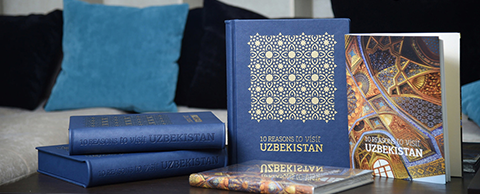 Alumna's book project on Uzbekistan receives royal approval