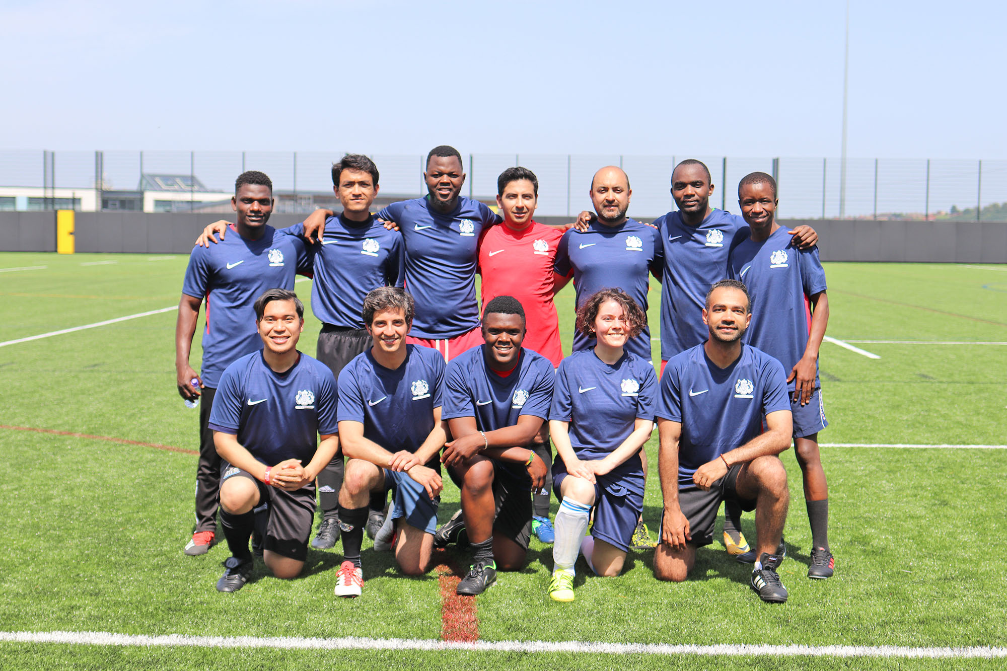 Chevening FC compete in annual CSC vs Chevening football match
