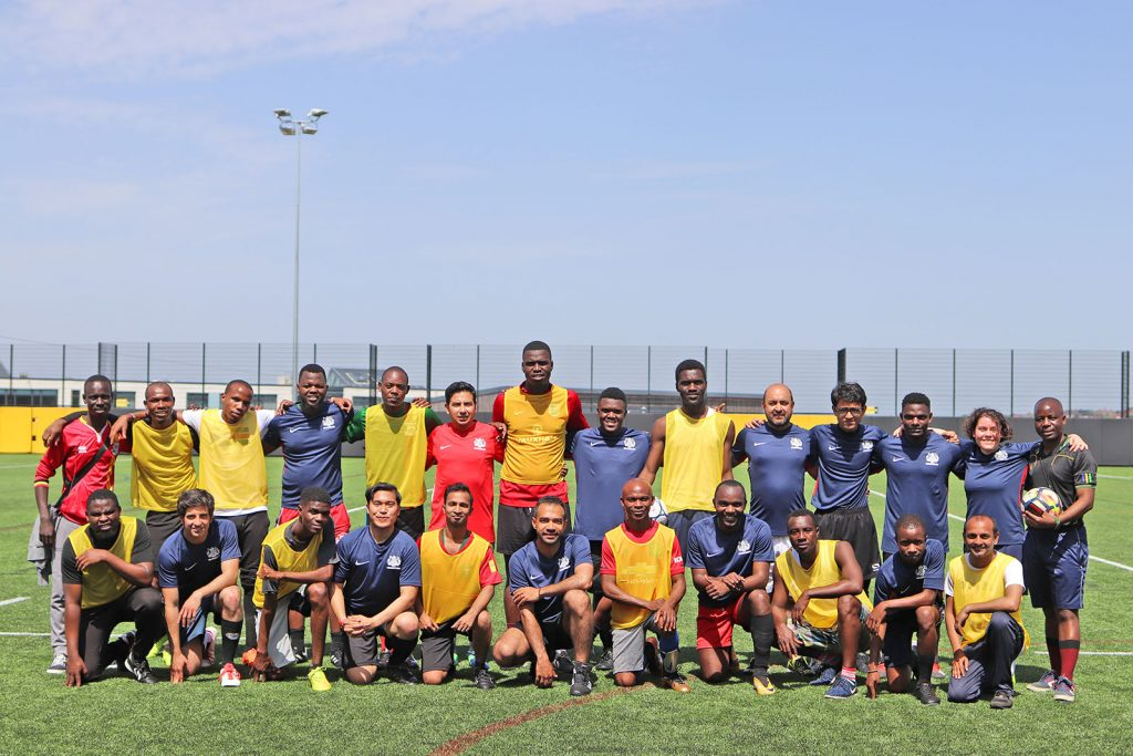 Chevening and CSC football teams
