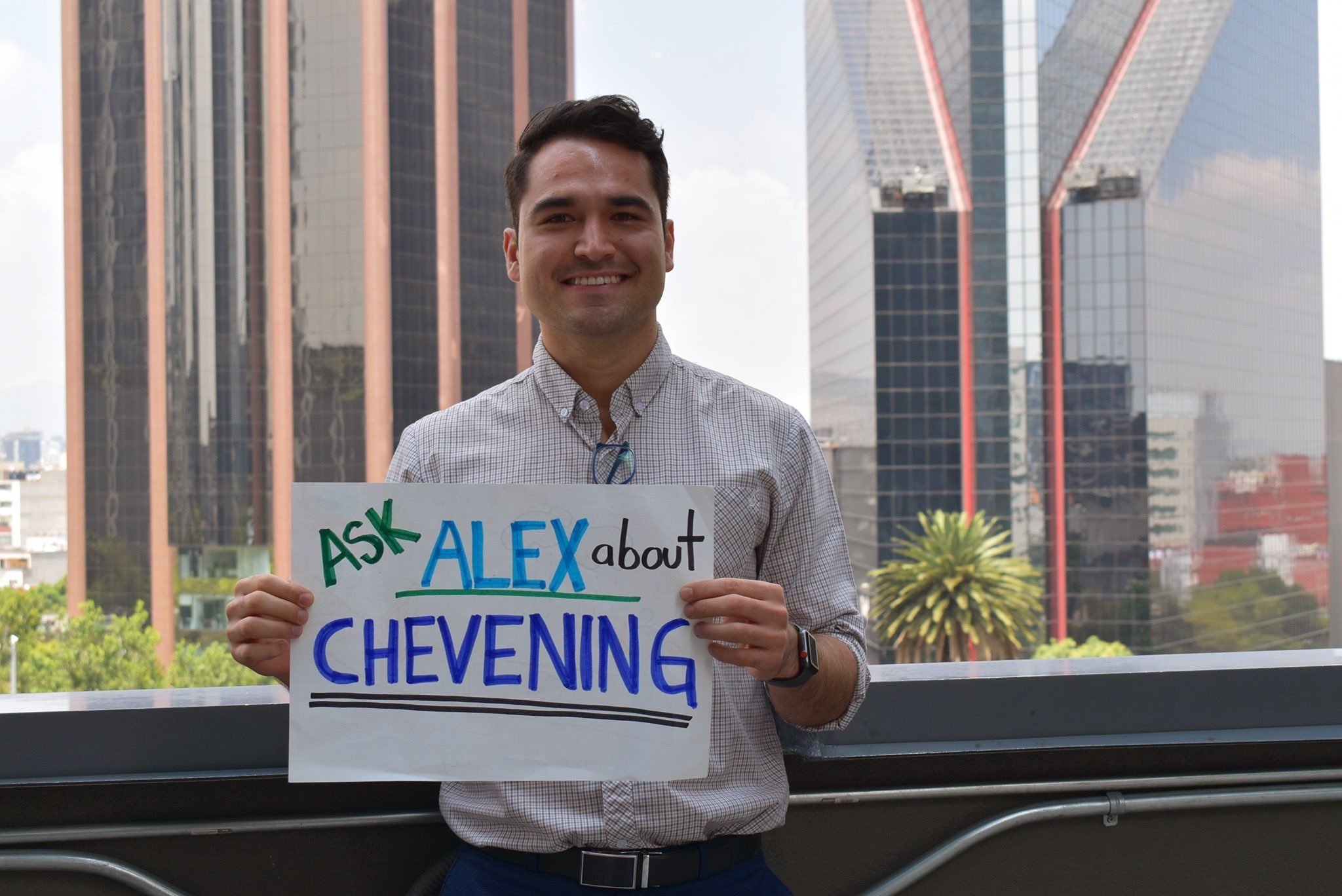 Chevening Mexico's Facebook Live