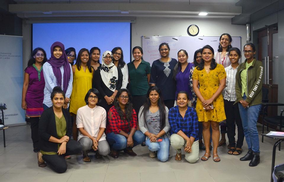 Members of Women in Journalism Sri Lanka (WJSL)