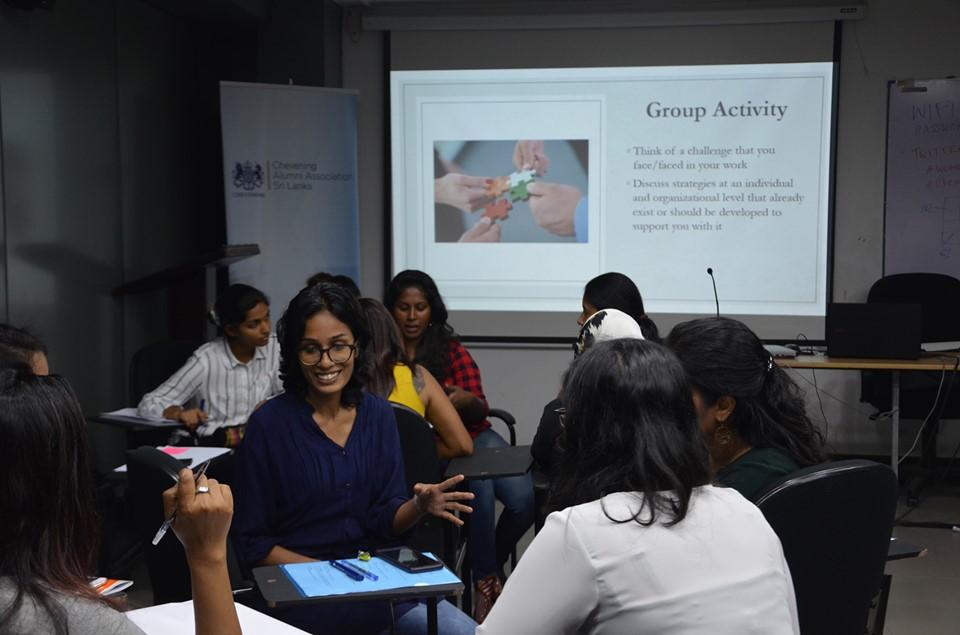 Skills development workshop in Colombo