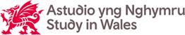Study in Wales logo