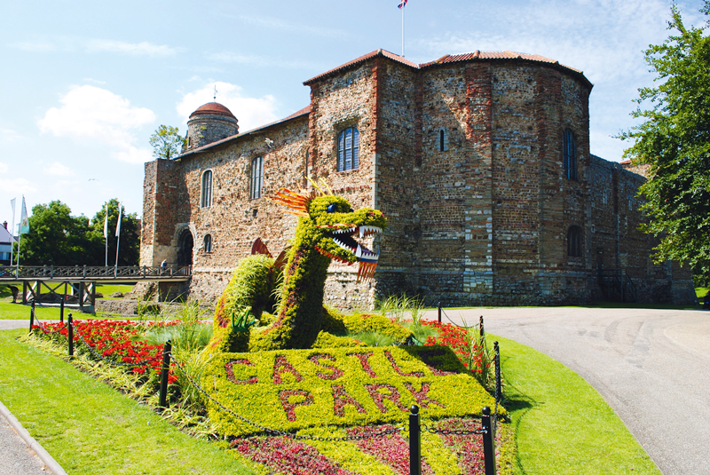 Castle Park in Essex