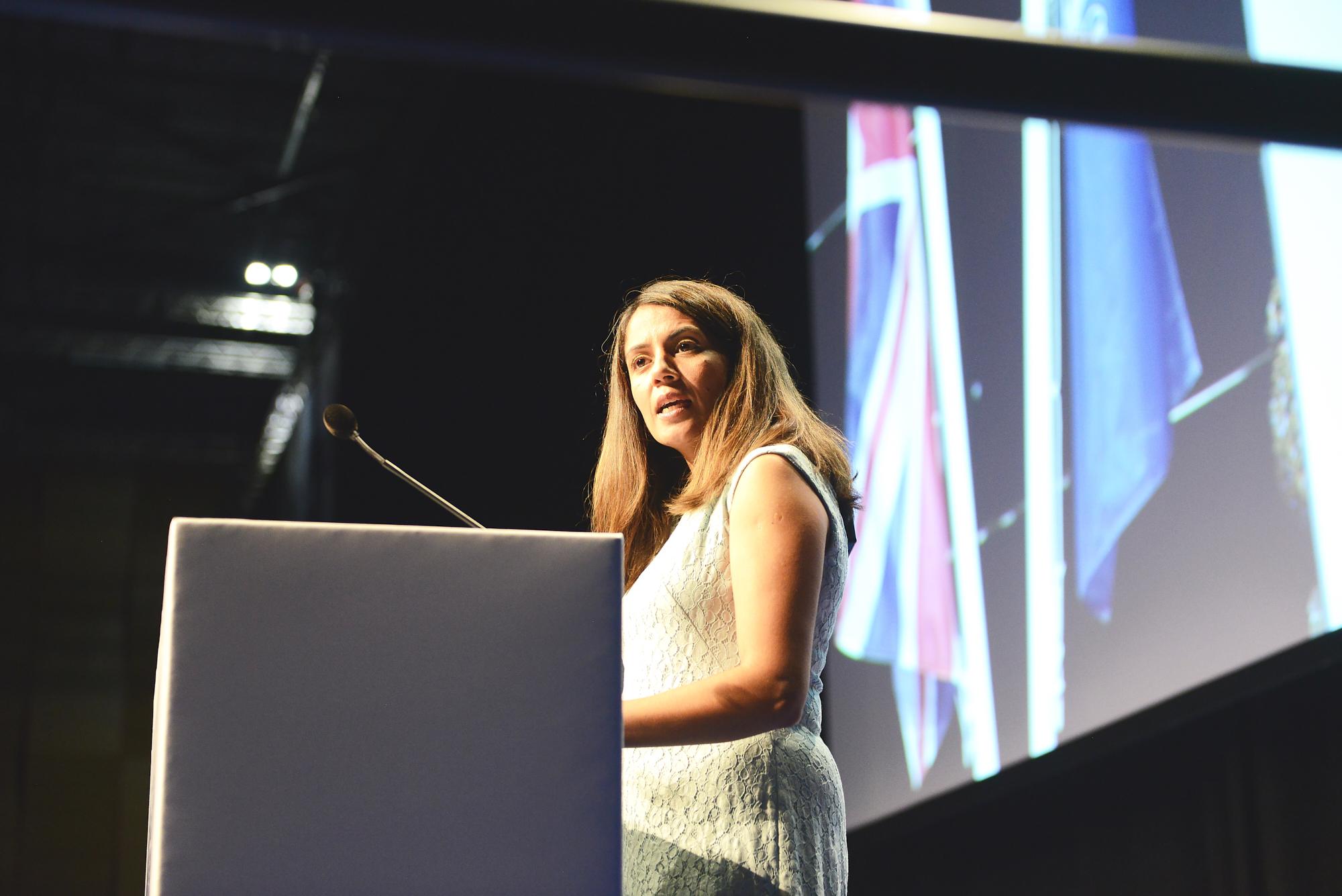 Rita French at Chevening Orientation 2019
