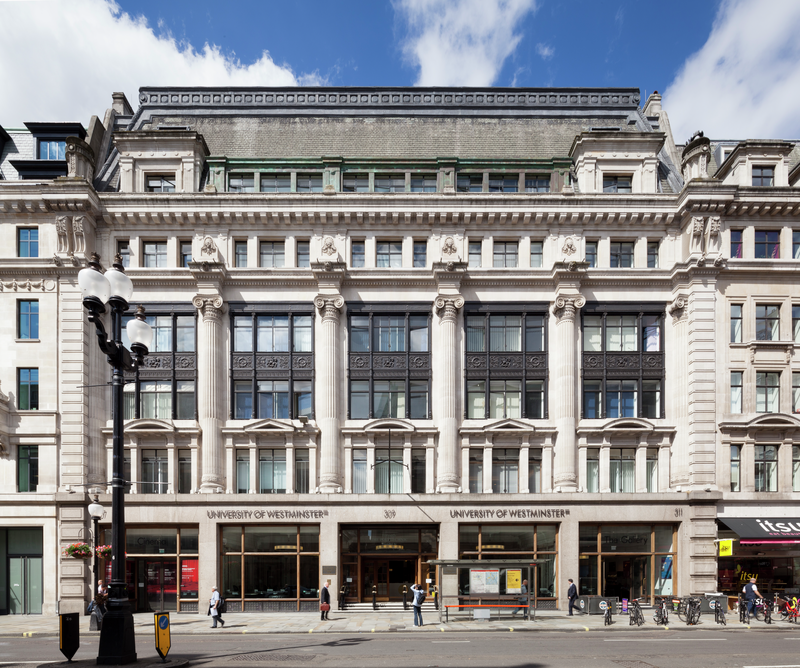 The University of Westminster in central London