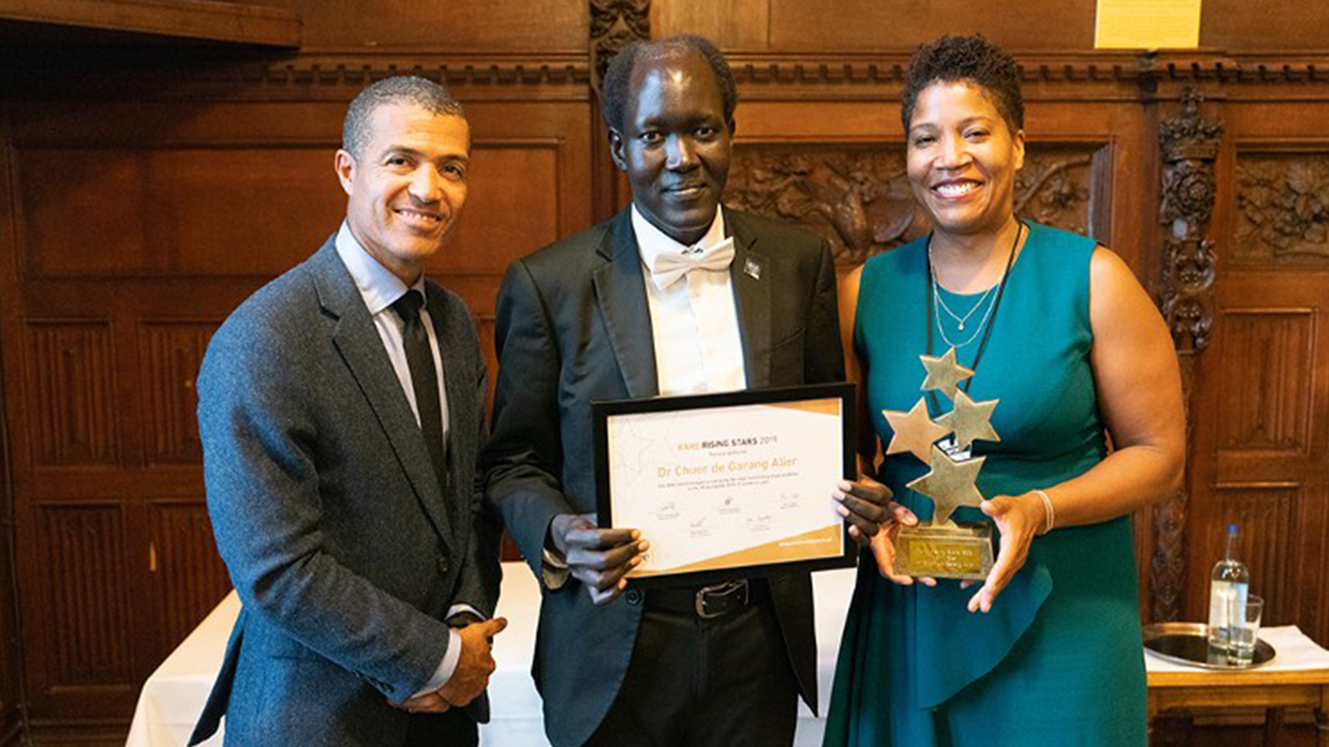 A dream conceived in South Sudan: Oxford scholar wins academic award