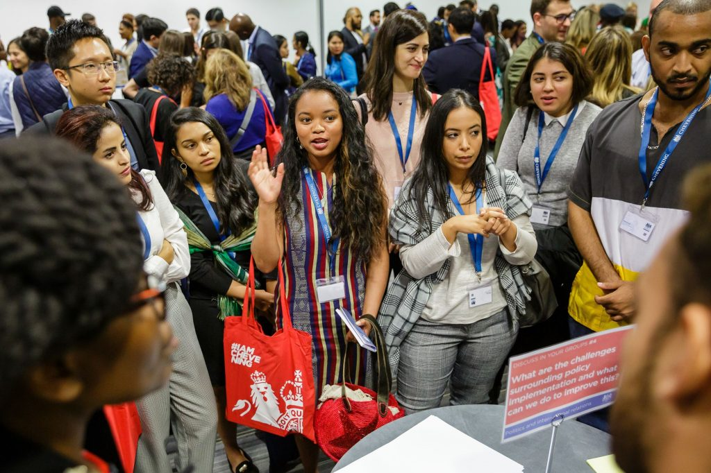 Academic networking sessions at Chevening Orientation