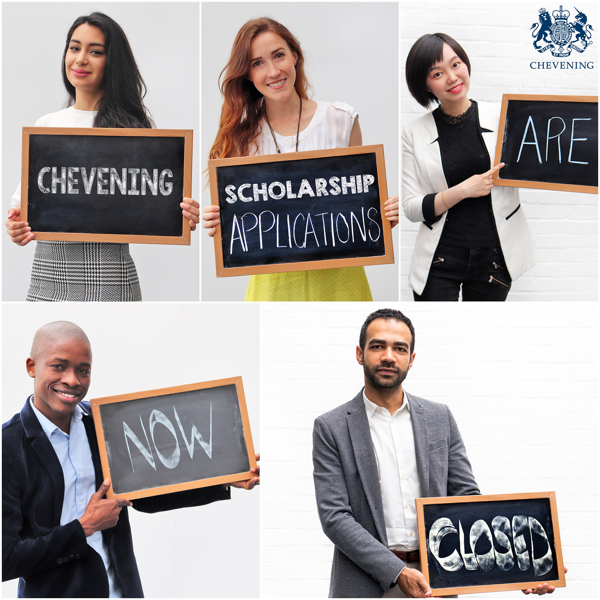 Chevening Scholarship applications now closed
