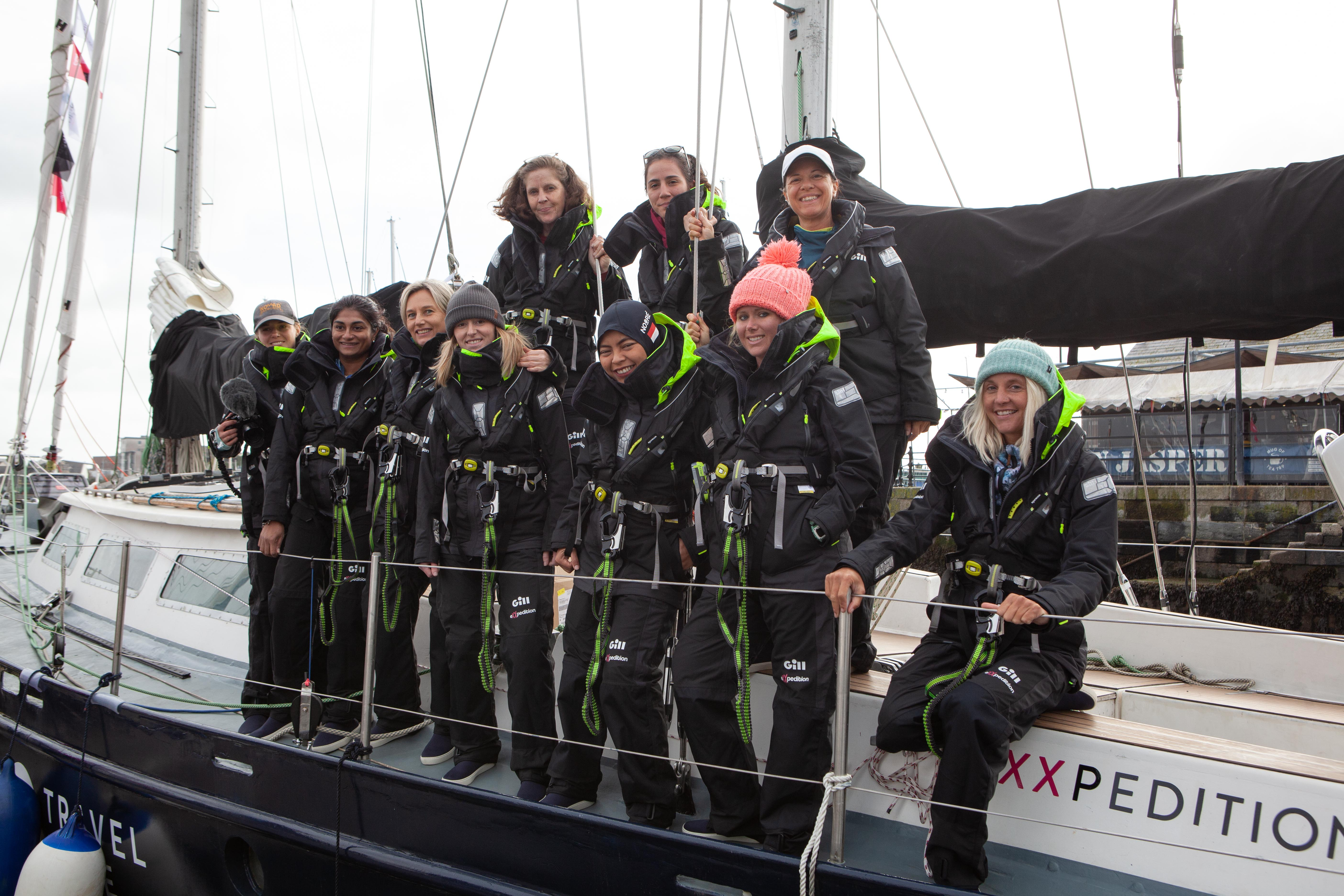 300 women sailing into the fight against plastic