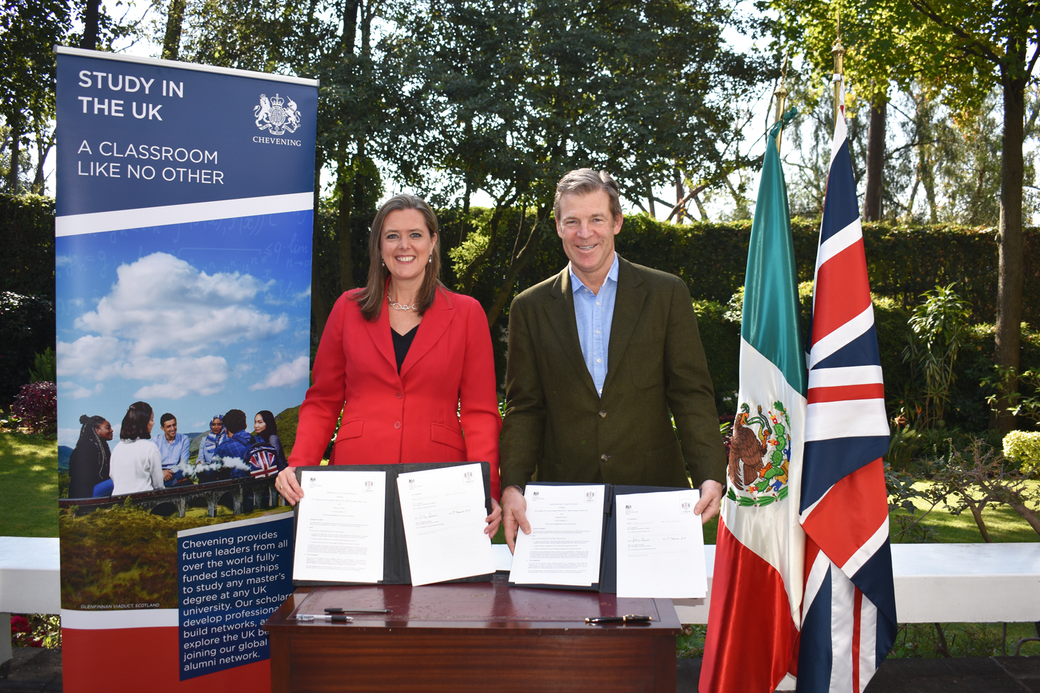 Chevening strengthens bonds with Mexico through new Mansion House scholarship