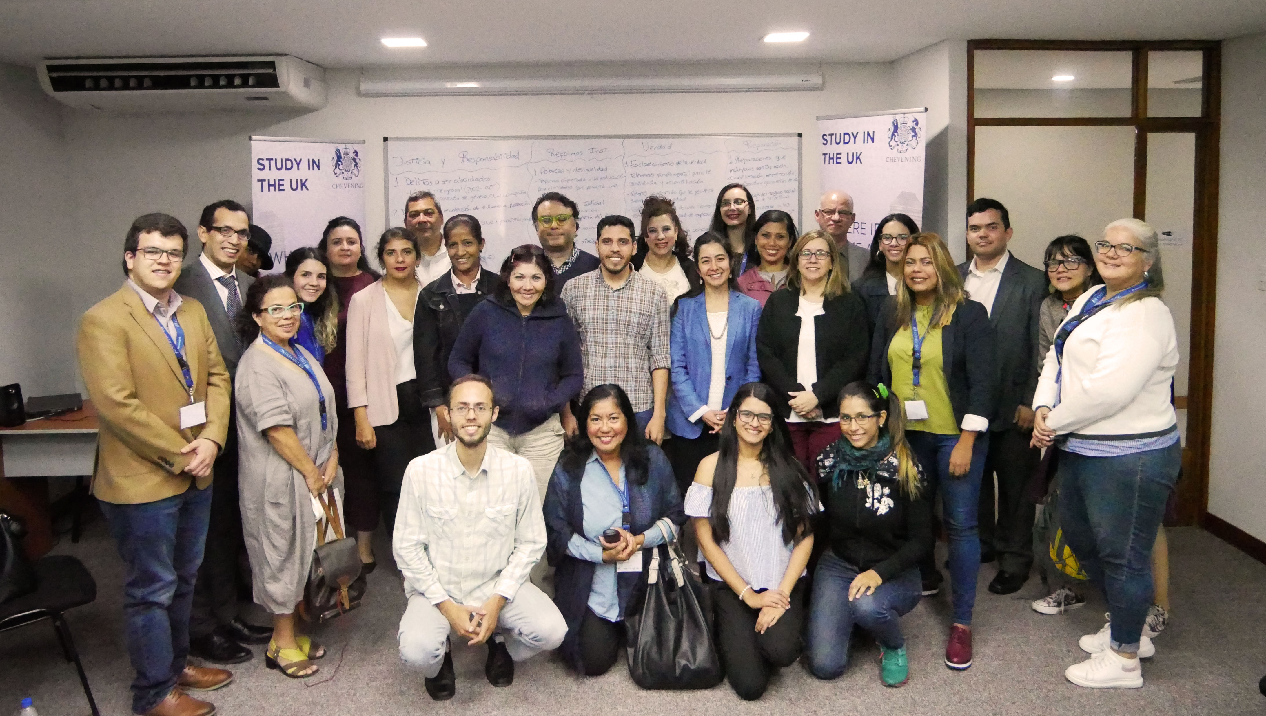 CAPF grant leads to a discussion about transitional justice in Venezuela