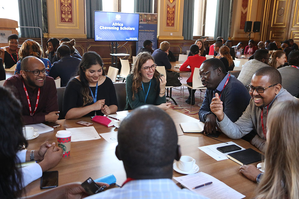 Chevening Scholars from Africa at the FCO