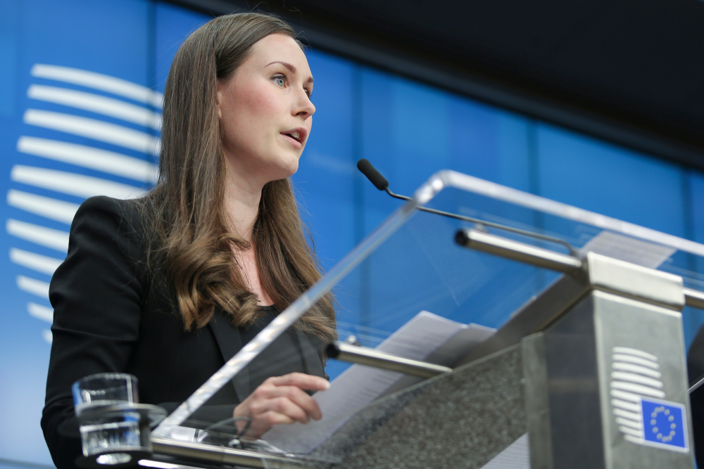 Sanna Marin - Finnish Prime Minister