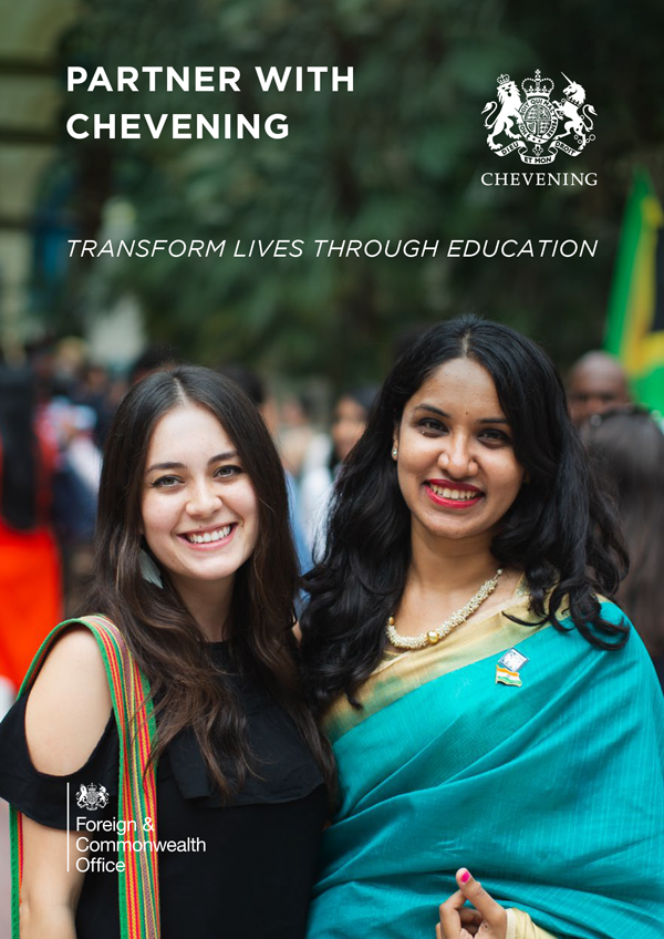Chevening Partnerships booklet front page
