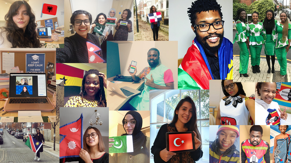 Scholars welcomed virtually at Chevening Orientation 2020