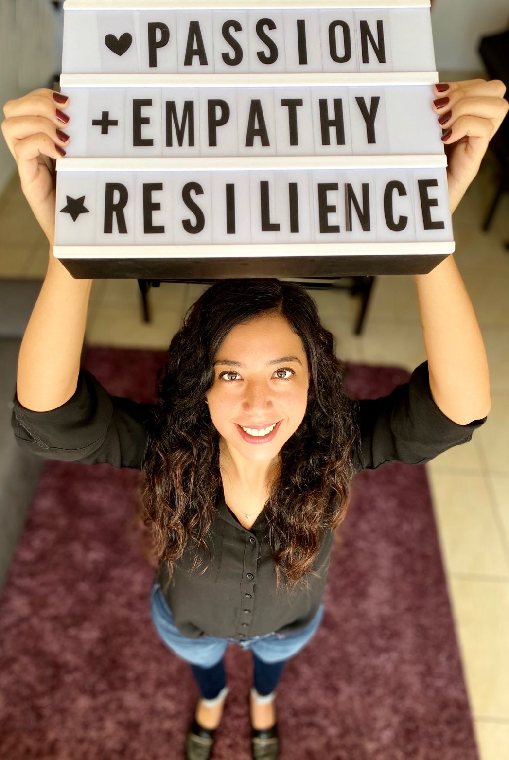 Passion, empathy, resilience